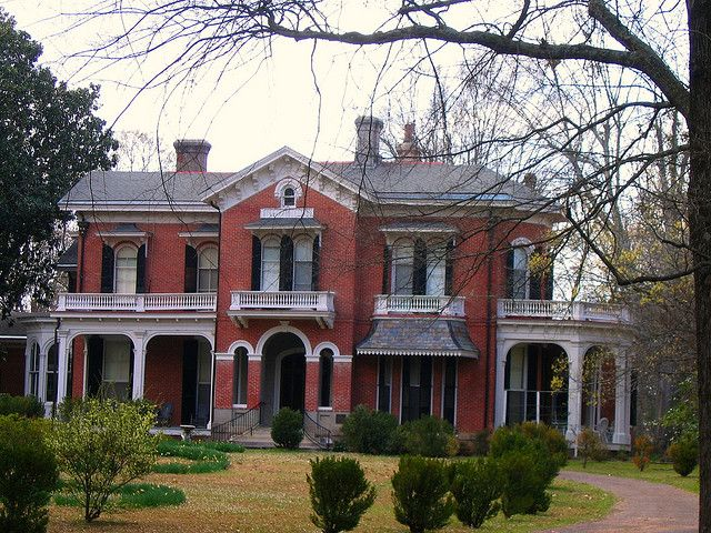 Oxford mississippi iii walking tour of antebellum homes for Home builders in south ms