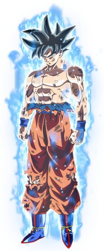 Son Goku Nueva Transformacion KI by jaredsongohan on DeviantArt