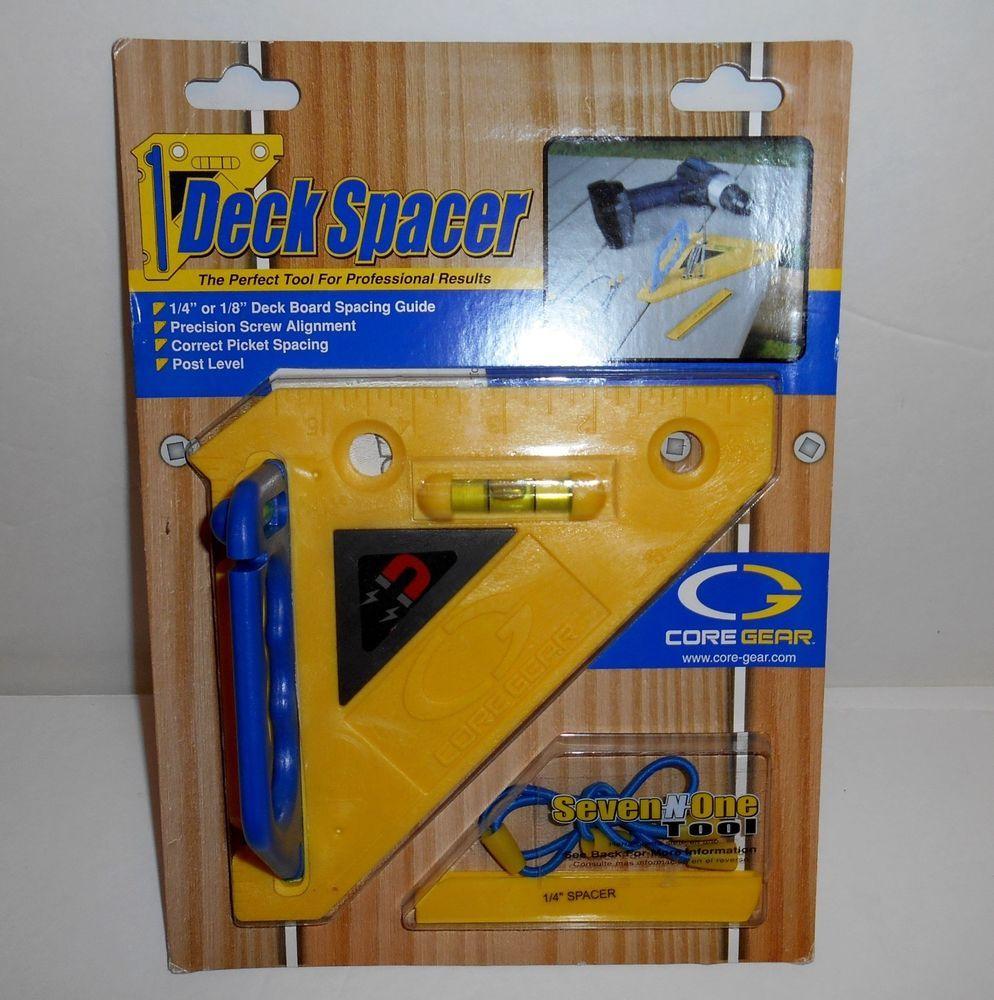 Core Gear Deck Spacer Tool Deck Board Spacing Guide New Deck Spacers Deck Boards Deck