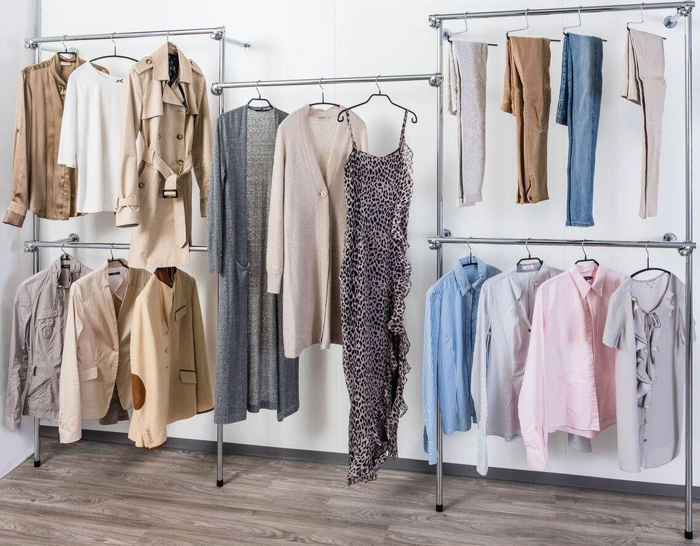 Ankleidezimmer schrank ~ Details zu profi kleiderständer kleiderschrank gardeobe