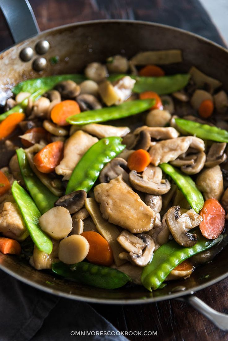 Moo goo gai pan recipe learning asian and food learn all the tricks to make the best moo goo gai pan that is way better forumfinder Image collections
