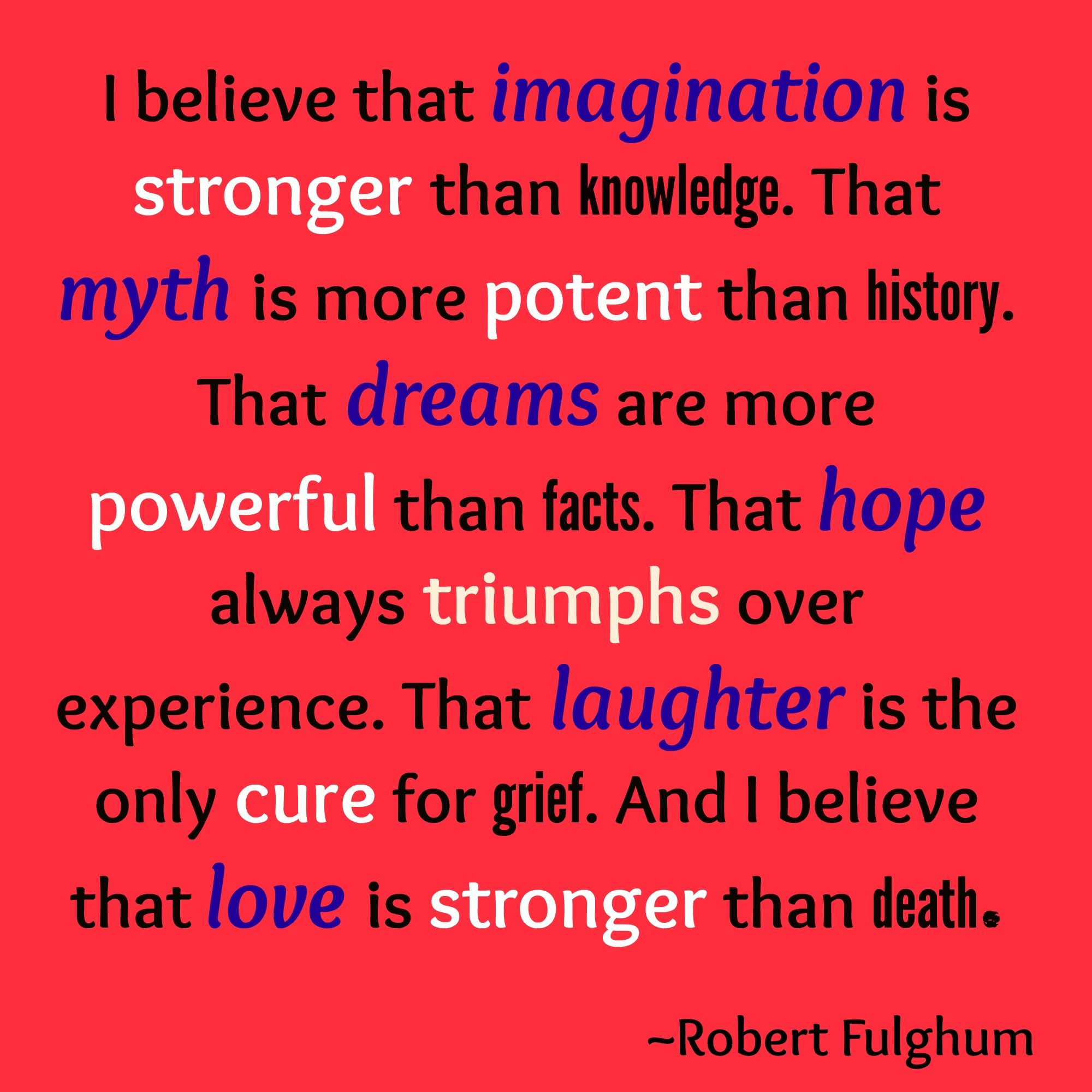 The Inspirational Quote for the Week of October 3nd - October 3th