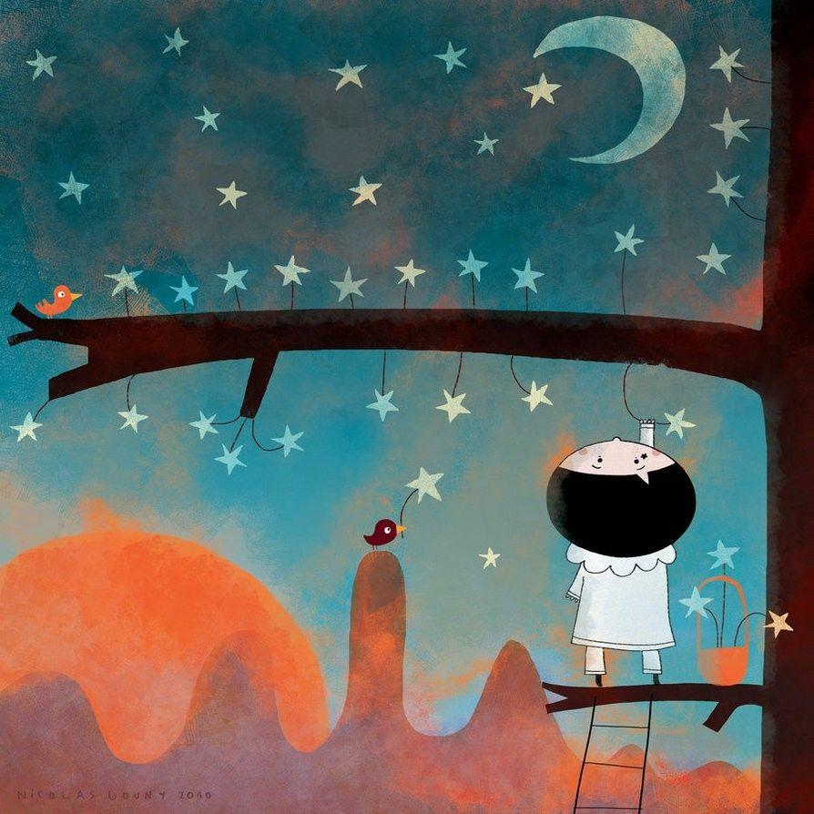 Pick Up A Star ⭐ By Nicolas Gourny @Deviantart