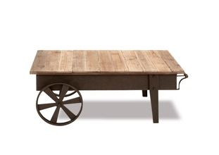Coffee Table w/ Wheels