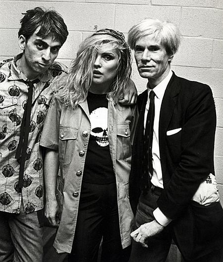 milkteeths:    (via Chris Stein, Debbie Harry and Andy Warhol | This Is Not Porn - Rare and beautiful celebrity photos) #celebrityphotos
