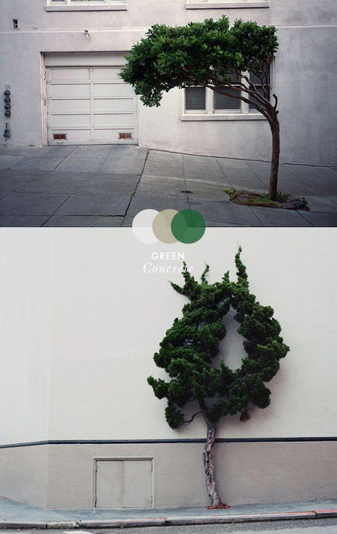 MOODS: Green concrete on thisispaper.com