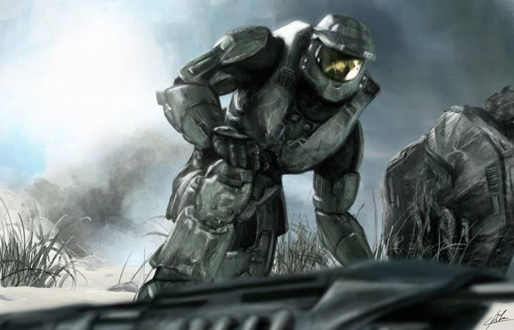 I Need A Weapon By Loginius Arisa Http Ift Tt 1wekdt7 Via Cortana Facebook Fanpage Http Ift Tt 1s2p5wc Halo Combat Evolved Combat Evolved Halo