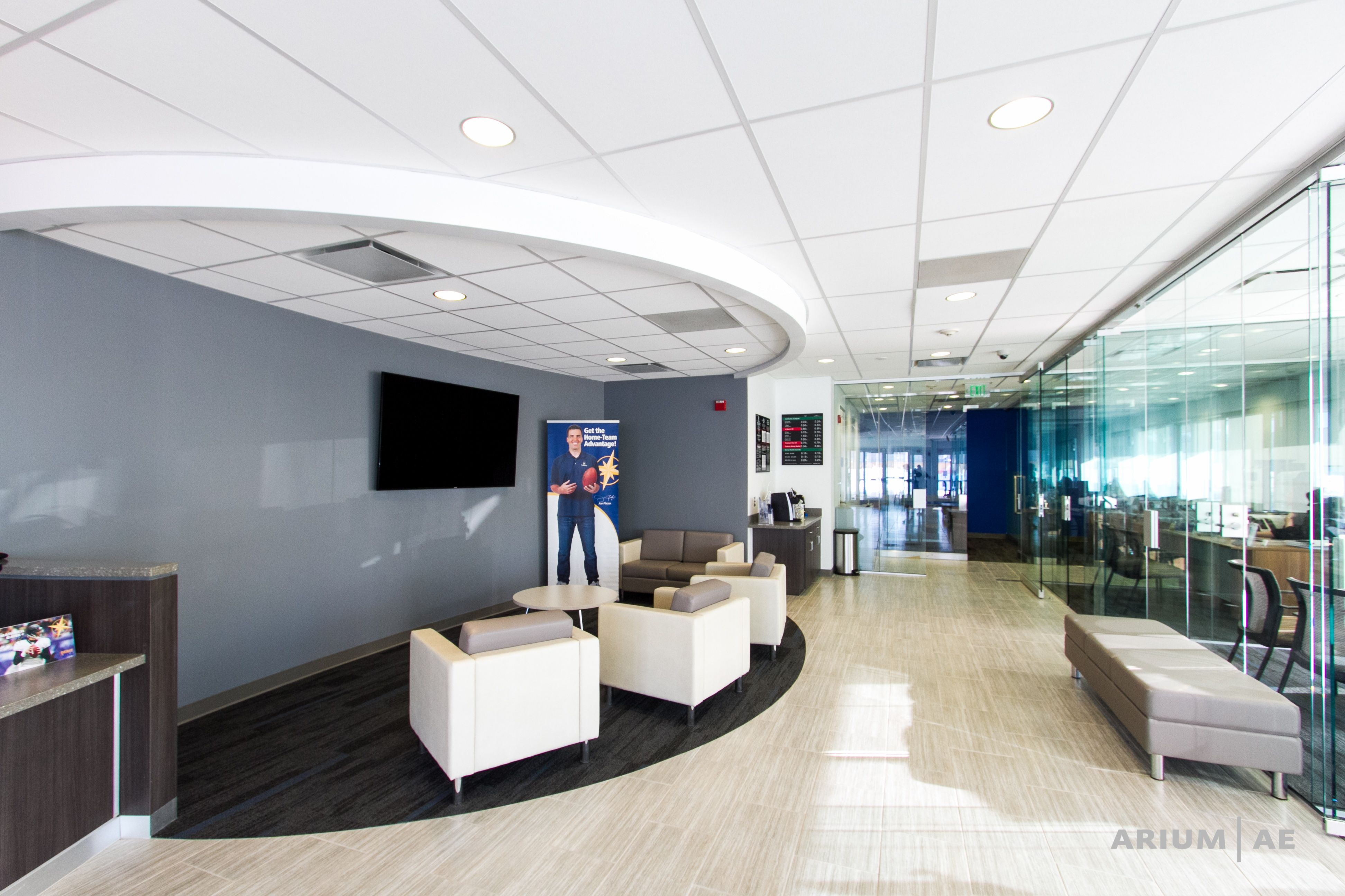 Interior Bank Design Glass Walls Waiting Area With Images