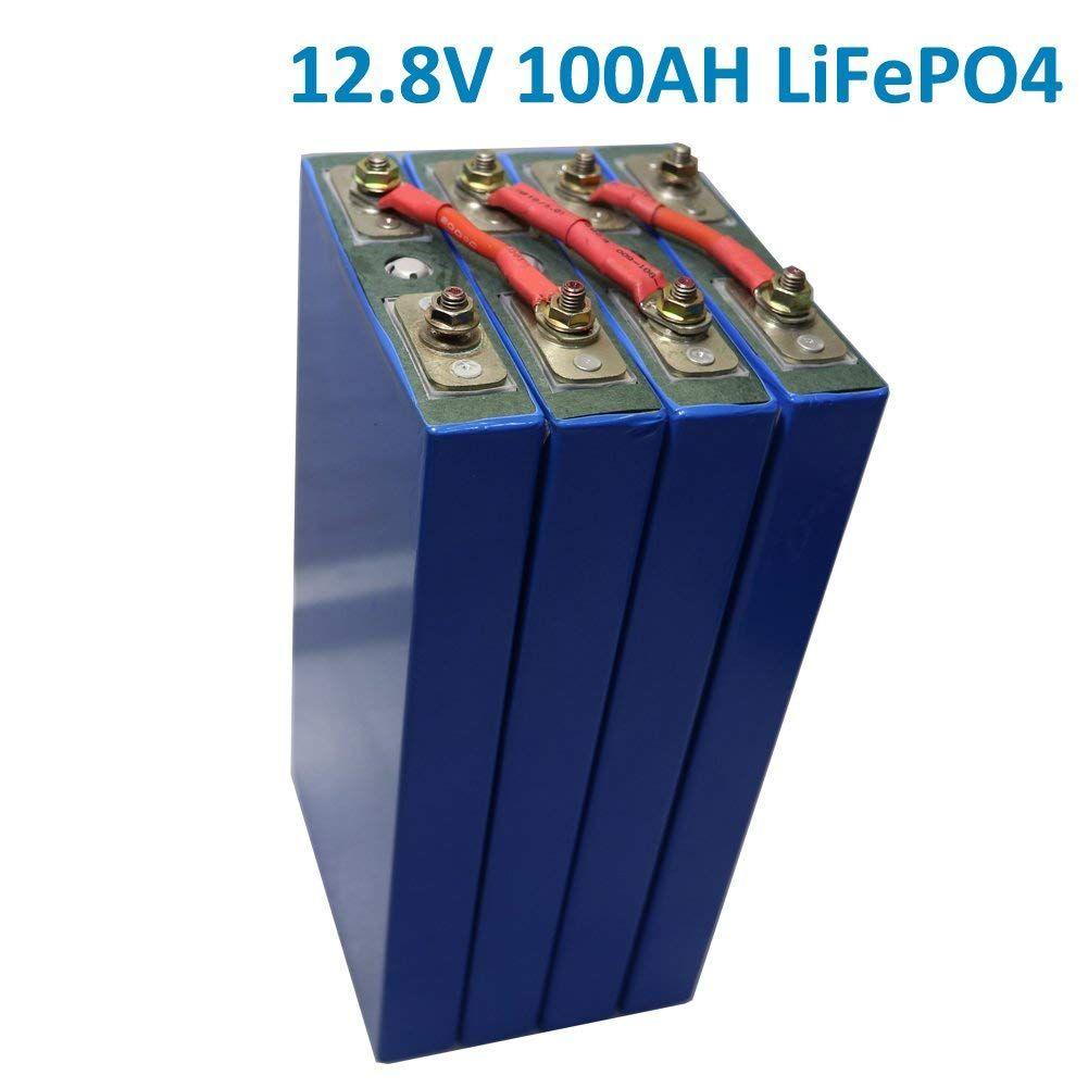 12V 100Ah lithium iron LiFePO4 Battery For EV
