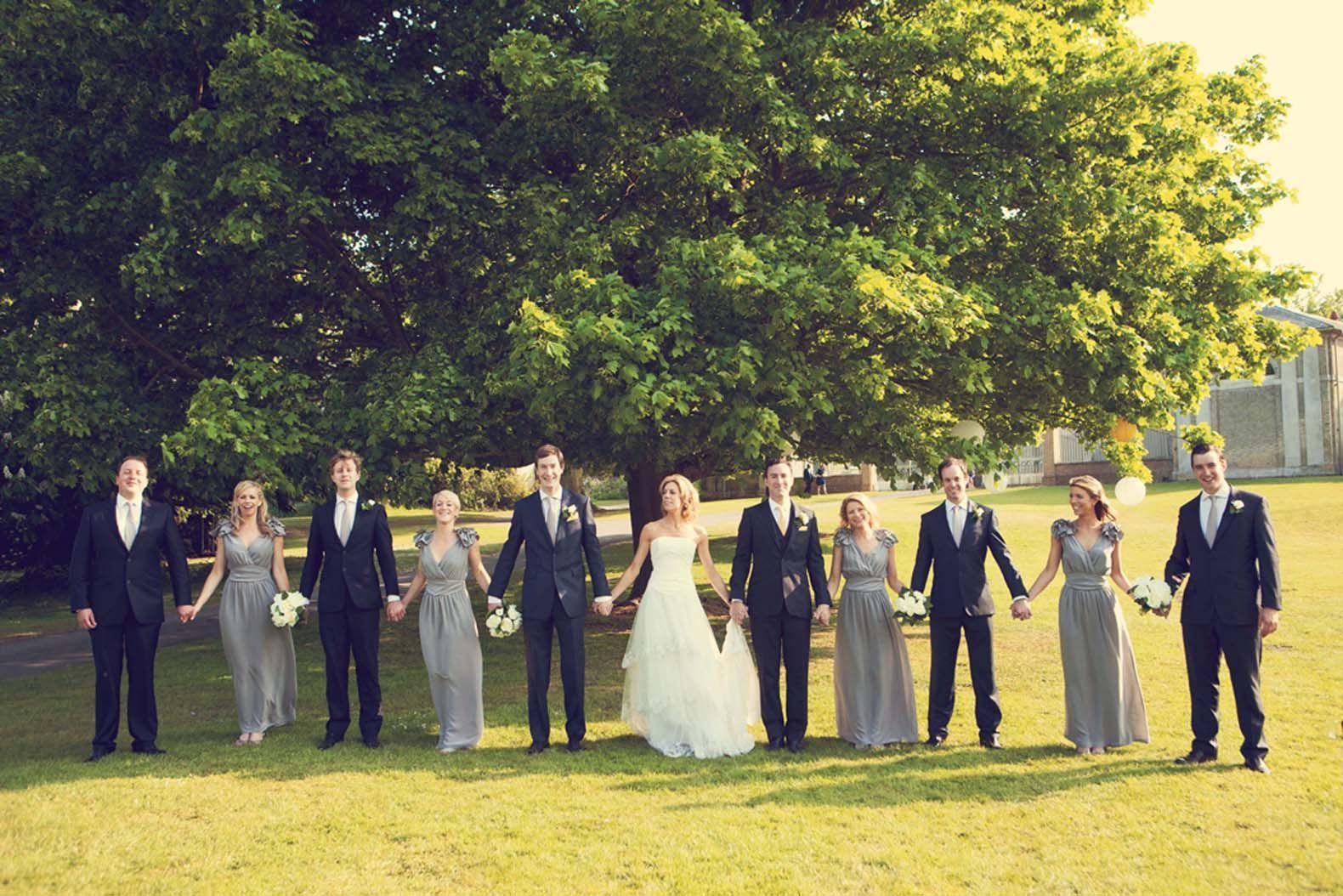 posturas de fotografía de fiesta de boda