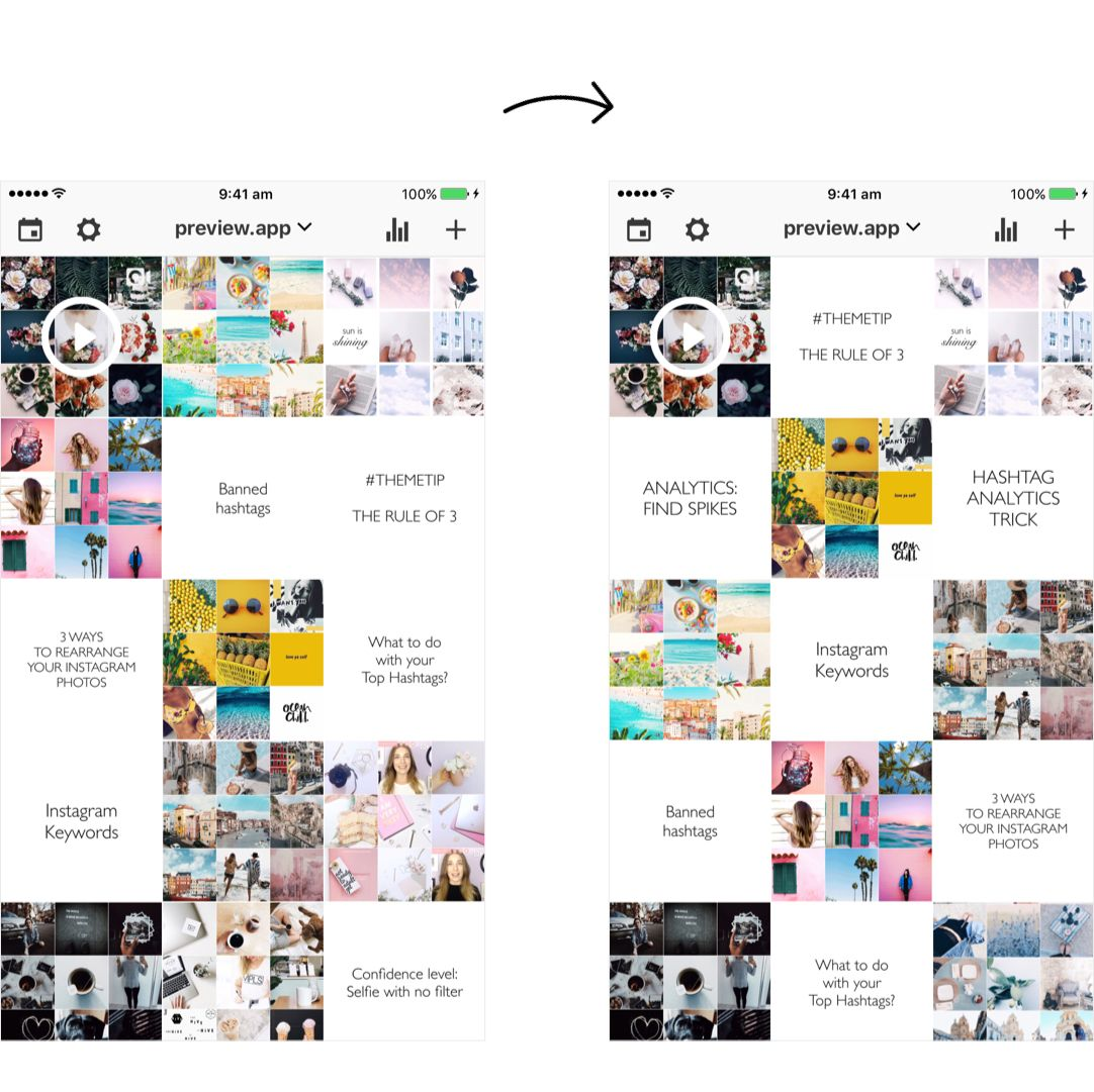 How I Schedule My Instagram Feed 1 Month In Advance Using Preview