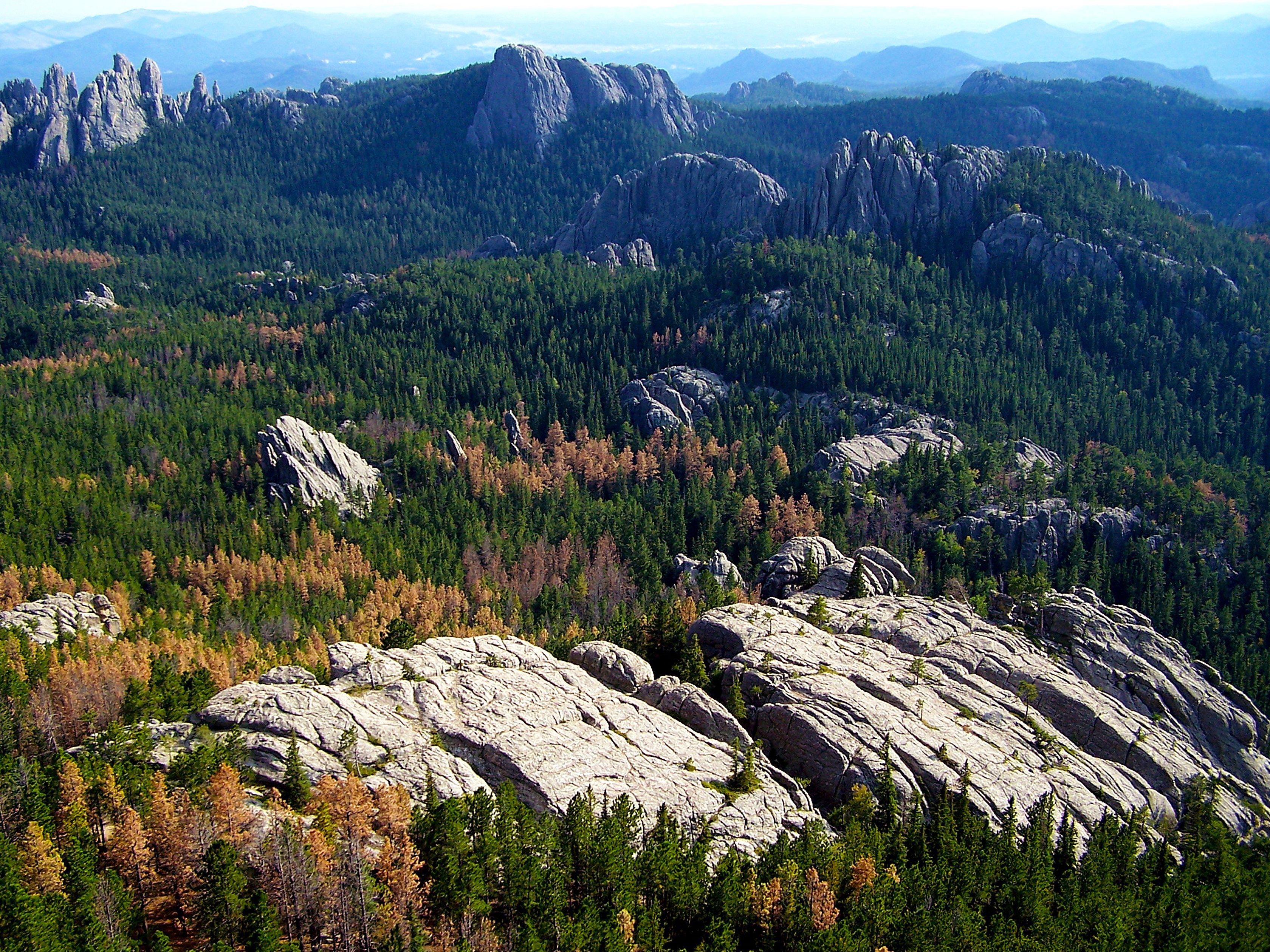 Black Hills national forest - Harney Peak | Travel | South Dakota ...