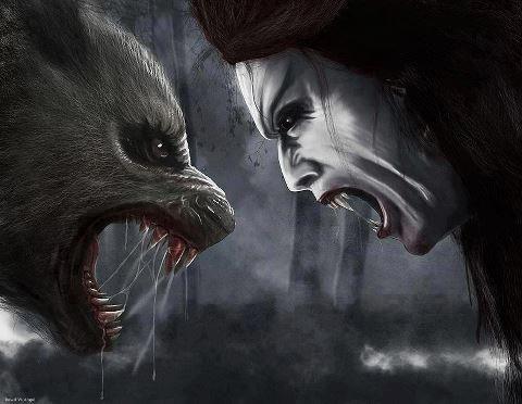 Lycan vs Vampire | Lycans, Vampires & Werewolves ...
