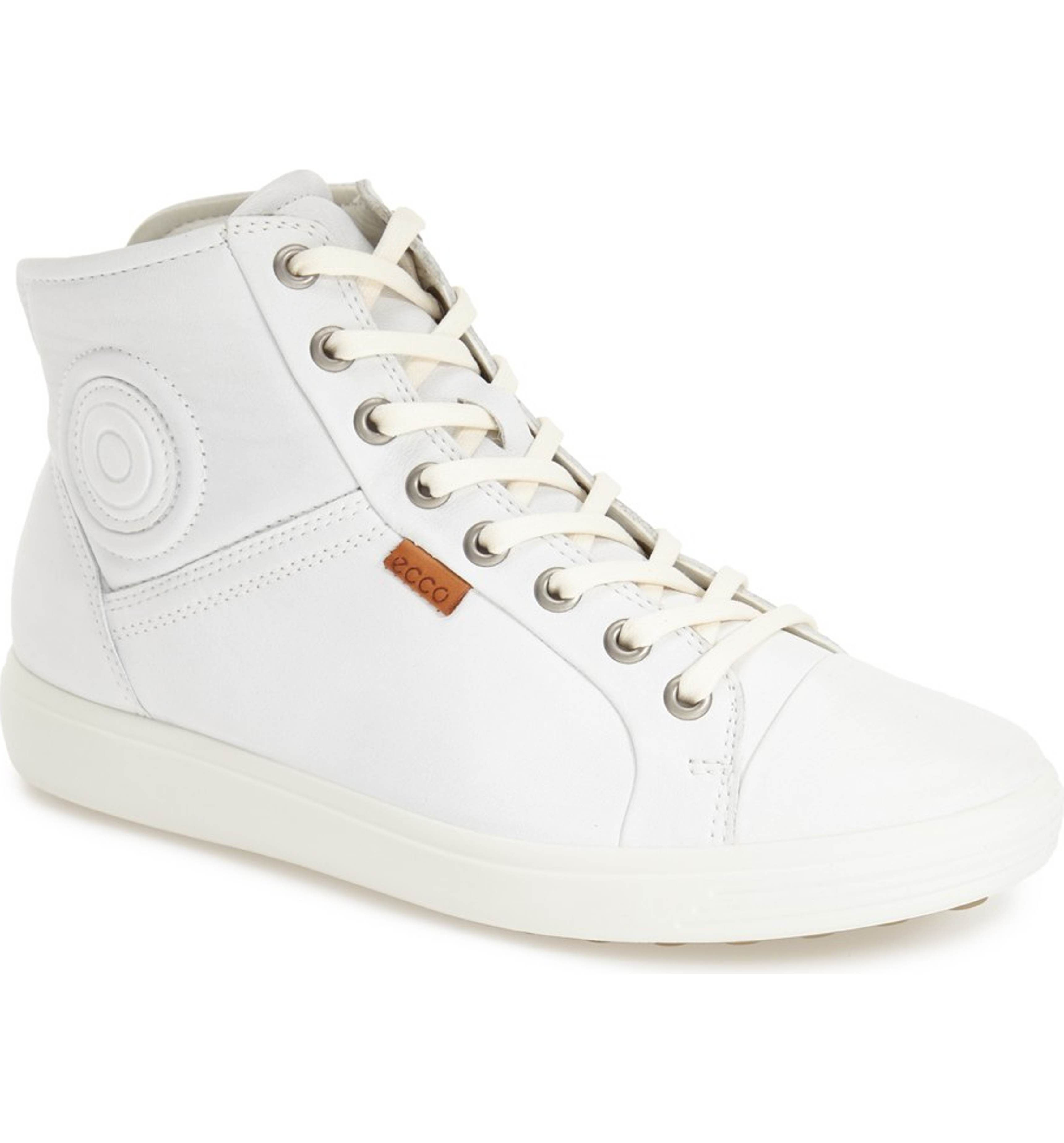 Ecco Soft 7 High Top Sneaker Women Sneakers High Top Sneakers Leather Sneakers
