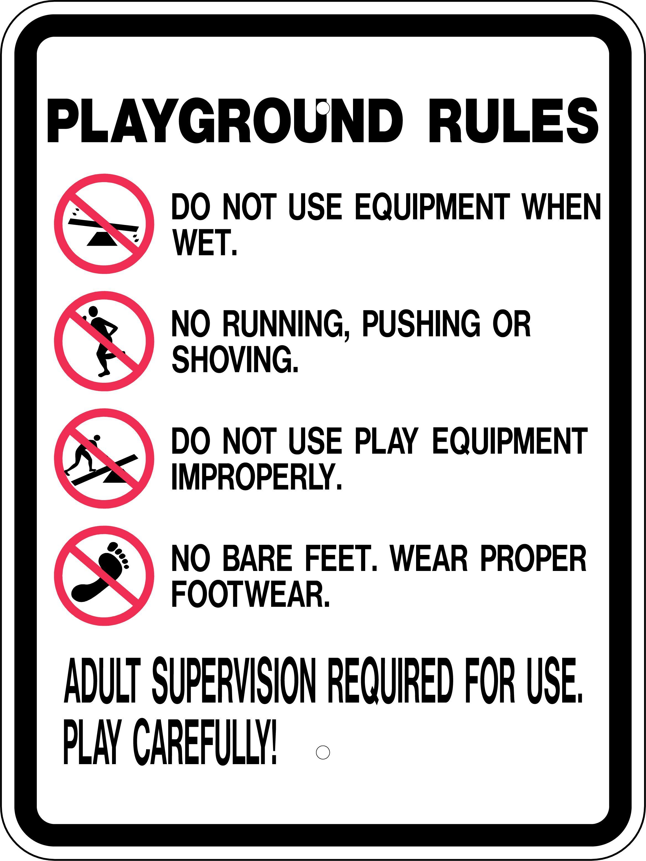 S2 10 Playgroundrulesstocksign