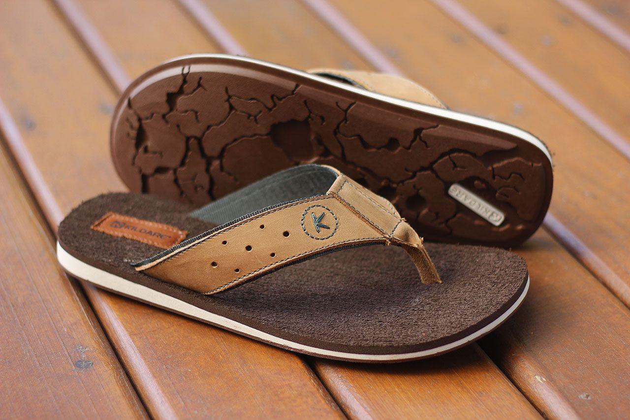 568906416 Sandália de dedo em couro BS54501 TIMBER COUGAR #kildare #chinelo #masculino