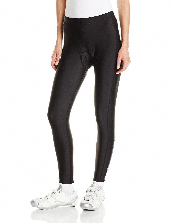 8e7c80ea2190f Shorts 177853: Canari Cyclewear Women S Gel Cycle Tights, Black, Medium Nwt  -