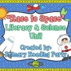 """This 45 page outer space unit is perfect for integrating literacy and science. Included in this unit is the following:    """"Space Race"""" science game {..."""