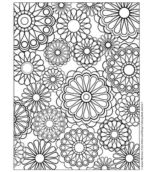Coloriage Difficile A Colorier Dessin A Imprimer Mandala A Colorier Coloriage Livre De Couleur