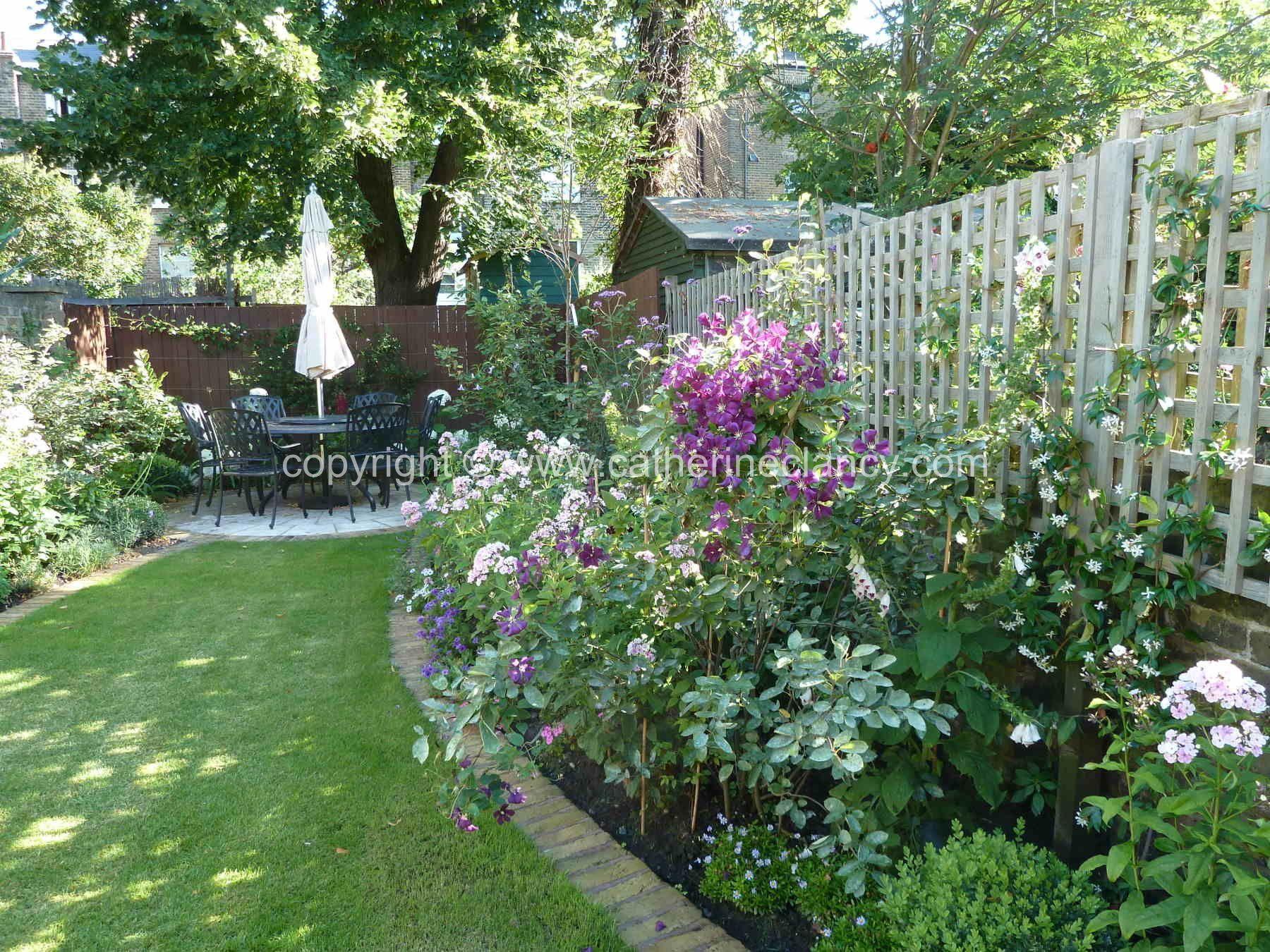 Victorian North Facing Garden By Blackheath Based Garden Designer Catherine Clancy Msgd The Ea In 2020 North Facing Garden Garden Design London Front Garden Design