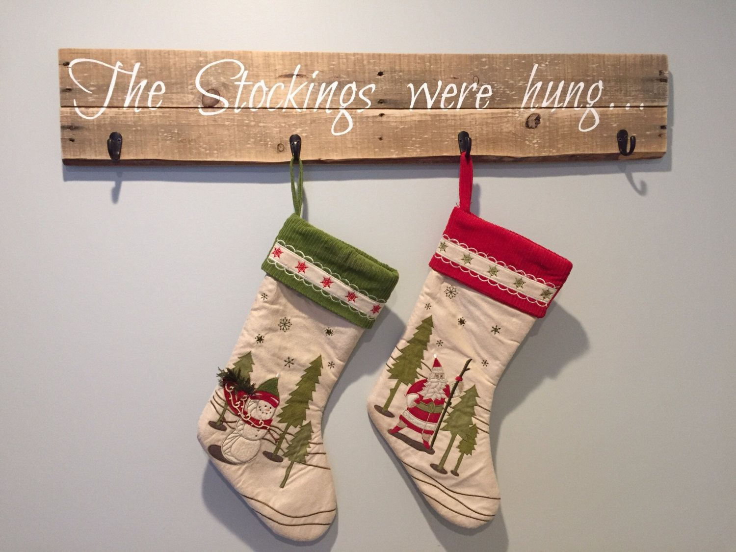 image result for wooden santa stocking stand christmas pinterest jpg 1500x1125 rustic christmas stockings - Rustic Christmas Stocking