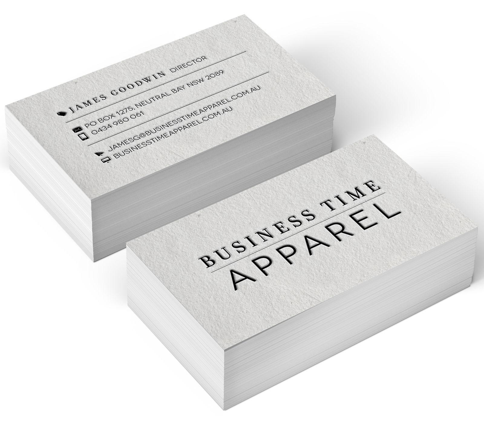 fashion business card design pinterest