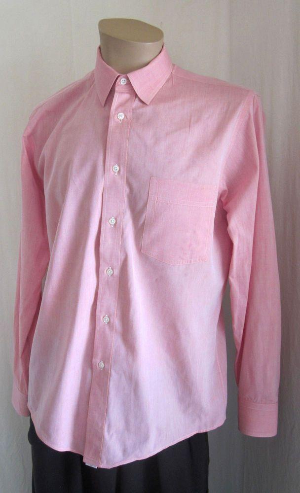 CHRISTIAN DIOR Monsieur Men\'s Le Cachet De Dior Mauve Dress Shirt 15 ...