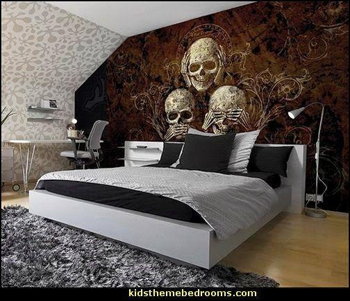 49+ Skull bedroom decor ideas