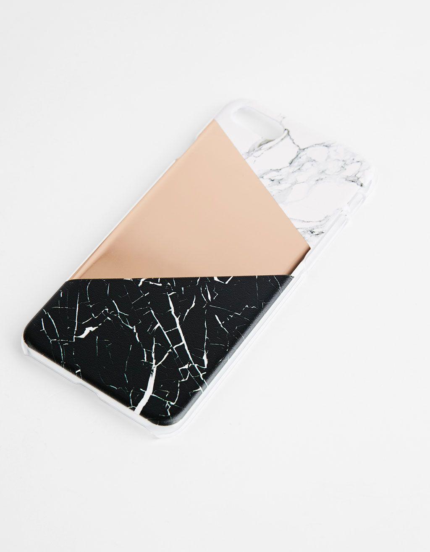 cover effetto marmo iphone 7