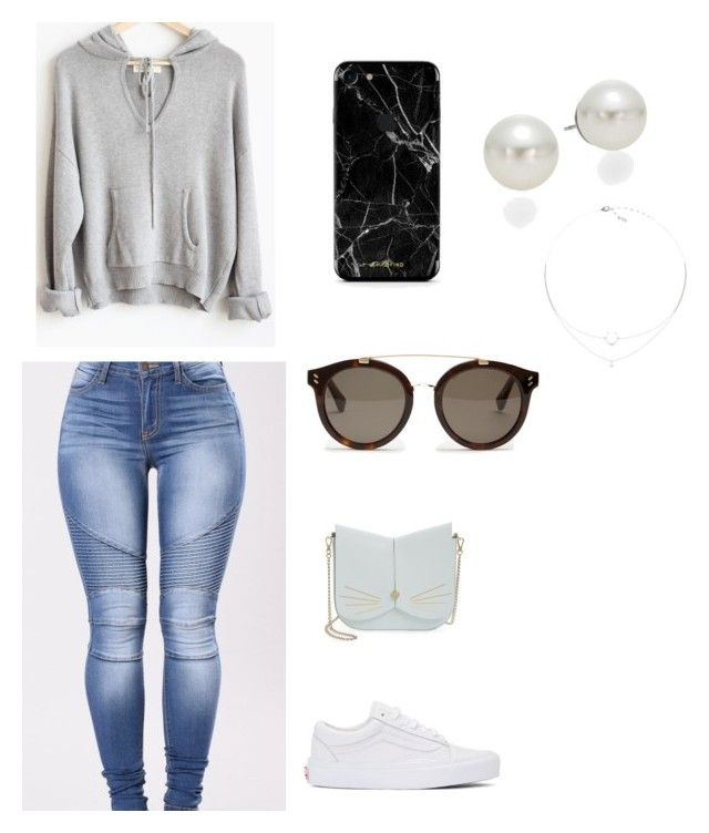 """""""Untitled #130"""" by vintage6739 on Polyvore featuring Vans, Ted Baker, STELLA McCARTNEY and AK Anne Klein"""