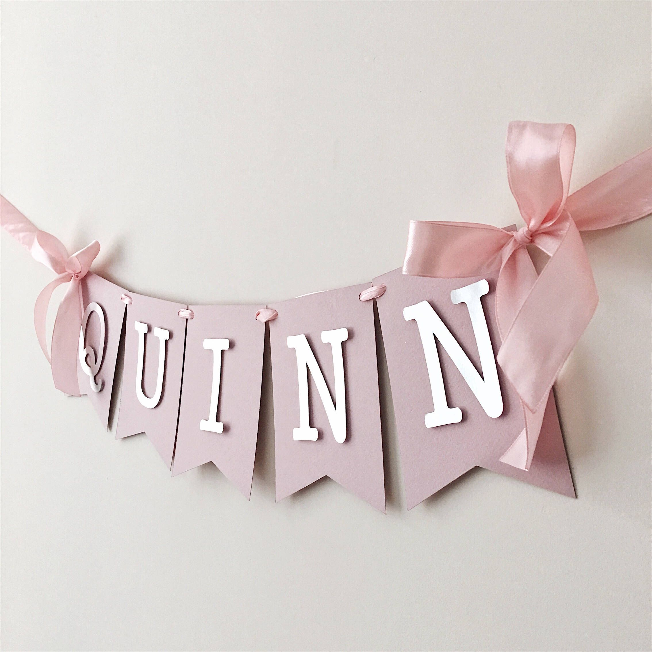 excited to share the latest addition to my etsy shop dusty pink personalized banner bridal shower banner dusty rose silver gold birthday decoration baby