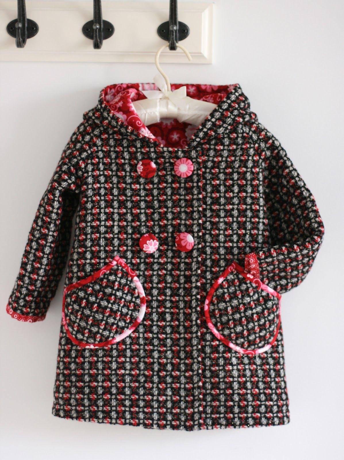 Выкройка пальто для девочки рост 116