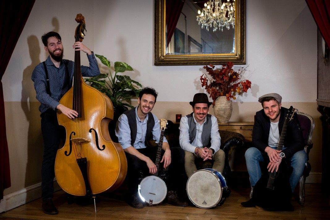 The Young Folksmen are an authentic and enchanting four