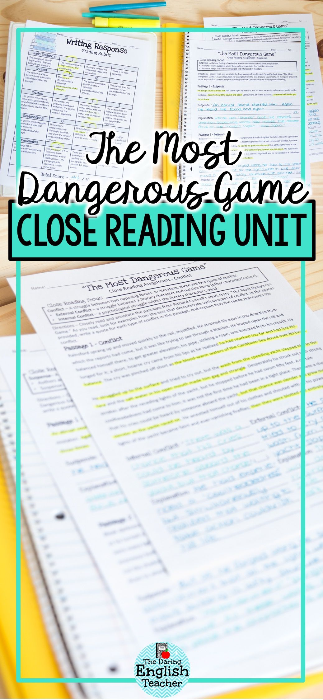 Engage Your Students In A Close Reading And Literary Analysis Exercise With The M Close Reading Middle School Reading Games Middle School Middle School Reading