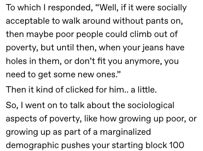 Viral Tumblr Post Breaks Down The Poverty Cycle In America Poverty Tumblr Posts Social Justice Issues