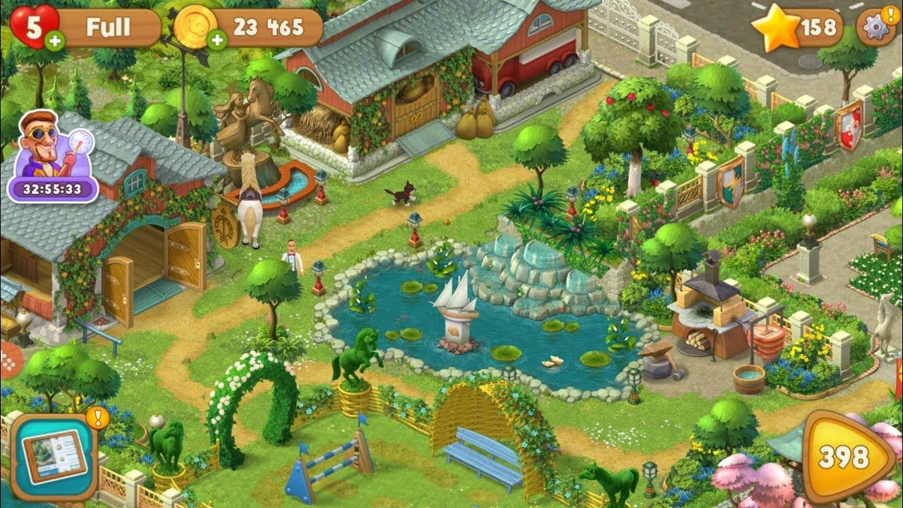 All Gardens completed😍. Full game tour. Playrix Gardenscapes. in 2020 |  Gardenscapes game, Gardenscapes, New animal crossing