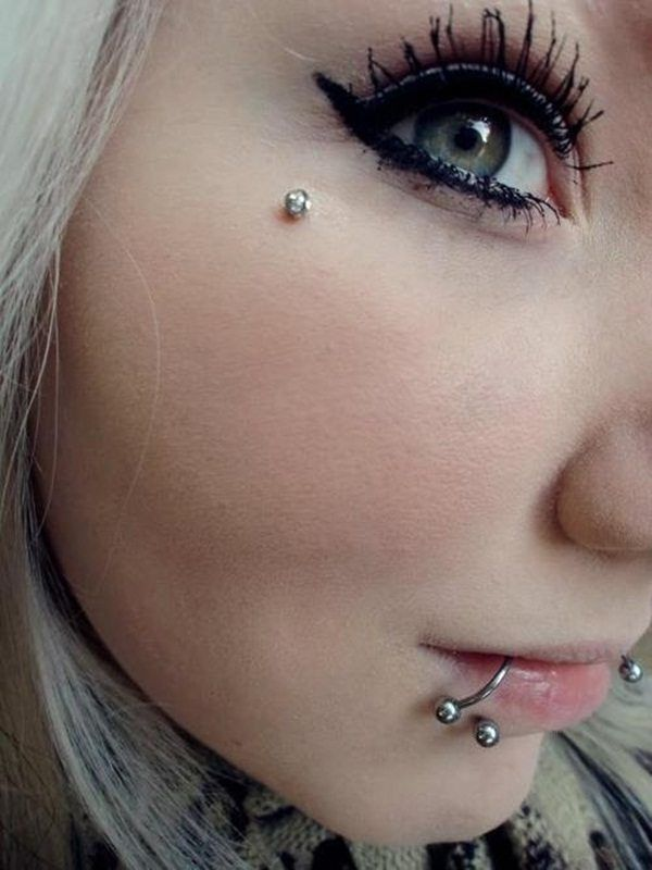 Anti Eyebrow Piercing Examples With Information Guide Inked