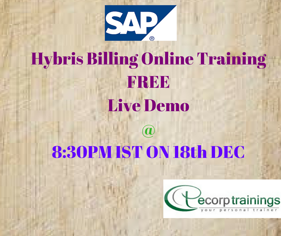 Best Institute For Learn Sap Hybris Training In Hyderabad India