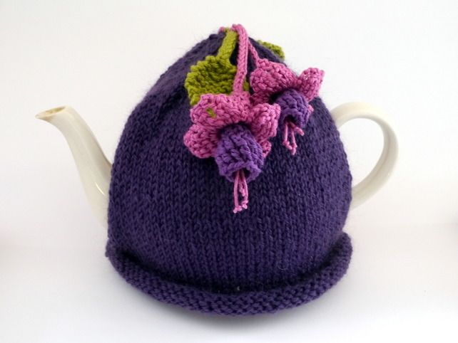 Fuchsia Tea Cosy £18.00 | Teacosys | Pinterest | Patrones libres de ...
