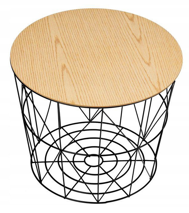 Okragly Stolik Druciany Rivo Side Table Decor Home Decor