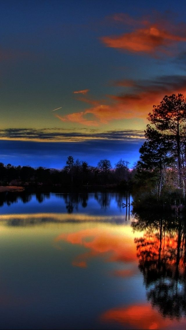 Paulk Lake Sunset Reflections IPhone Wallpaper SNRTG ITRTG Integridad Jehovah WitnessScripture