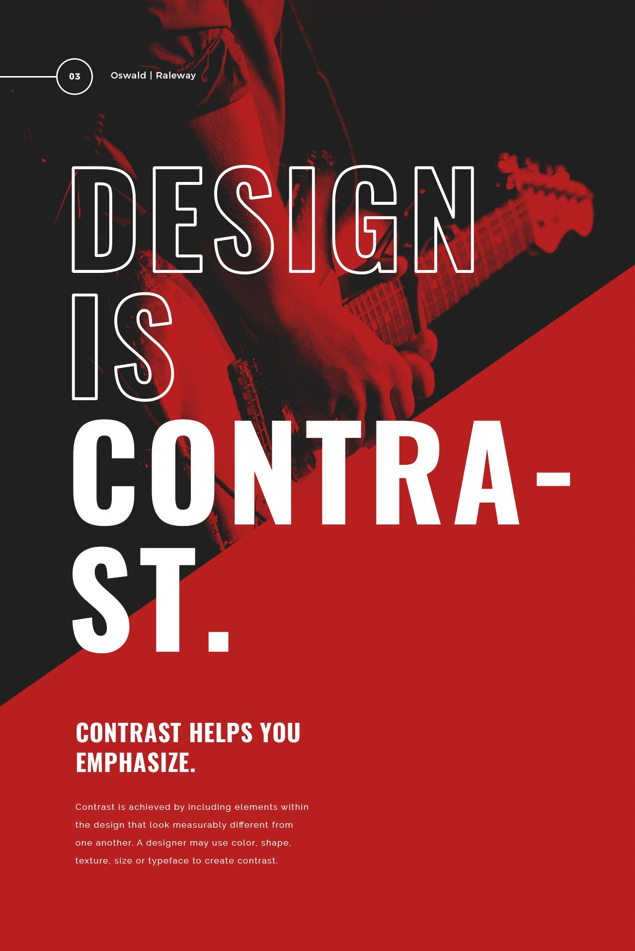 11+ Bold Typography Poster Examples, Templates & Ideas ...