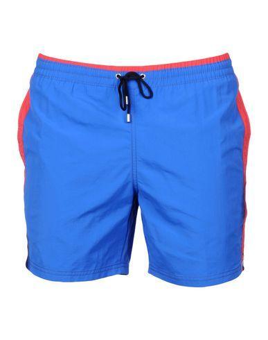 best service 9d2dc 3477d BYBLOS BEACHWEAR Men's Swim trunks Bright blue 32 waist ...