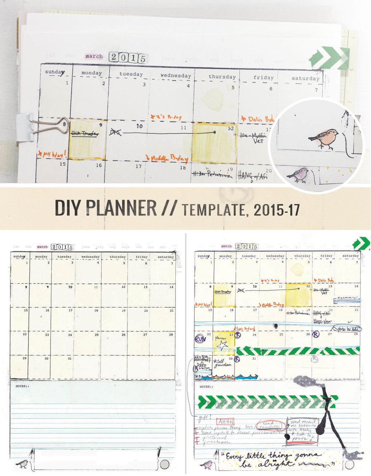 Make Your Own Awesome Planner Yeah Diyplanner Full Of