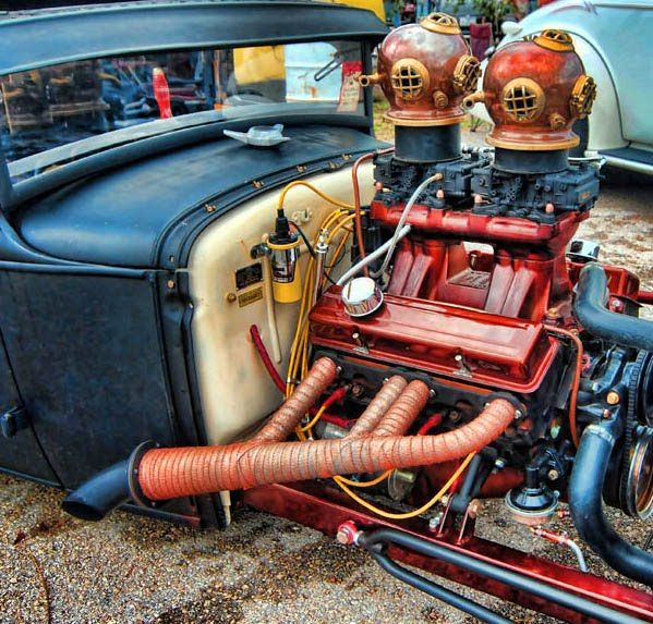 Cool Hot Rod Air Cleaners : Rat rods on pinterest rod trucks and hot