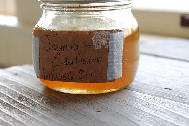 Jasmine & Elderflower Herb Infused Oil