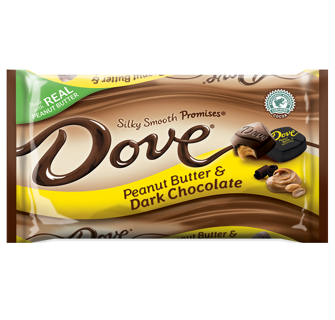 Dove Silky Smooth Promise Peanut Butter And Dark Chocolate Dark Chocolate Candy Dove Chocolate Dark Chocolate