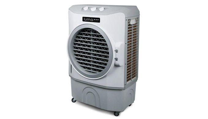 Luma Comfort Ec220w Indoor Outdoor Evaporative Cooler Evaporative Cooler Evaporative Coolers Portable Air Conditioner