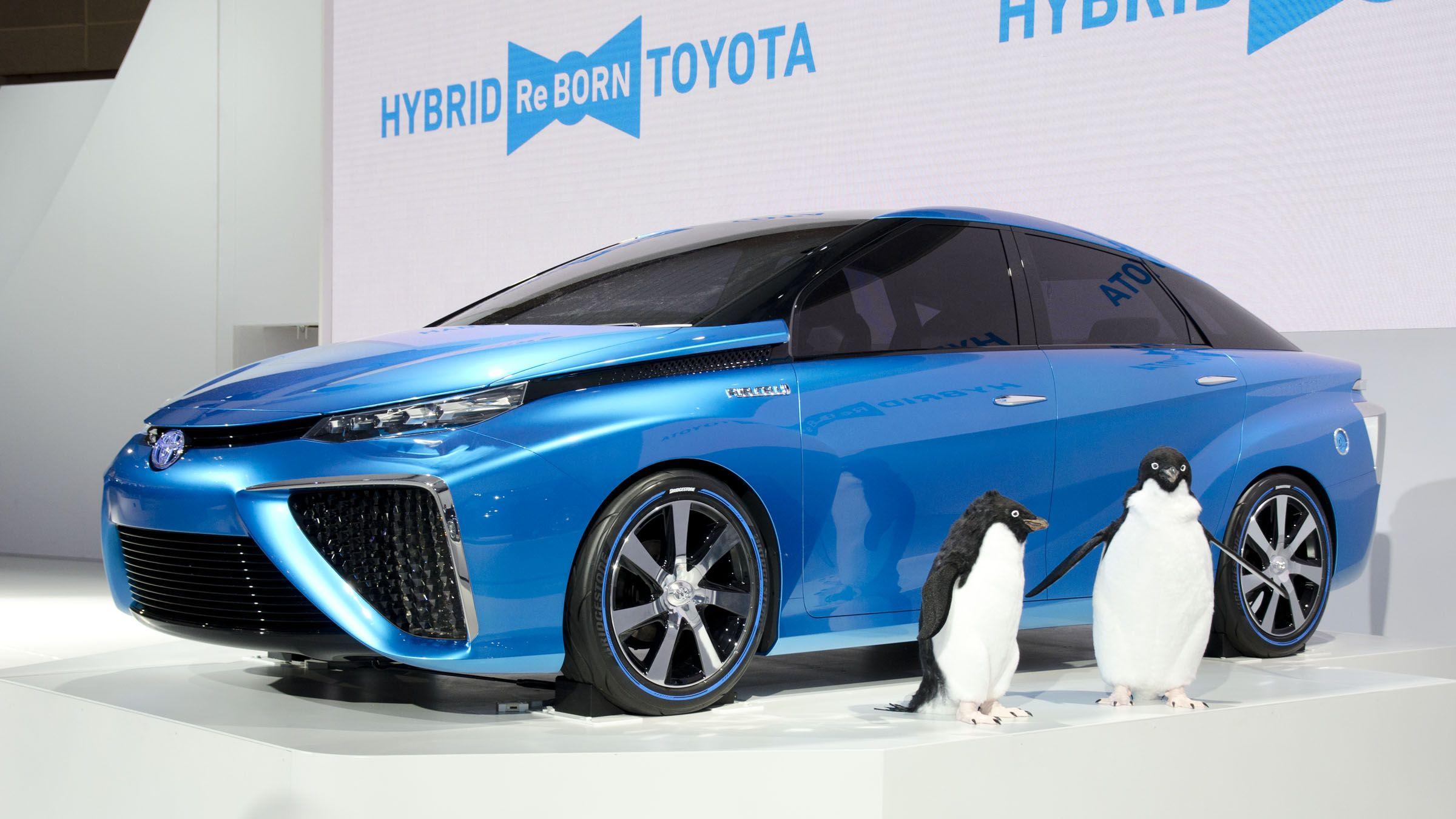 Lexus' parent company, Toyota, is pioneering the