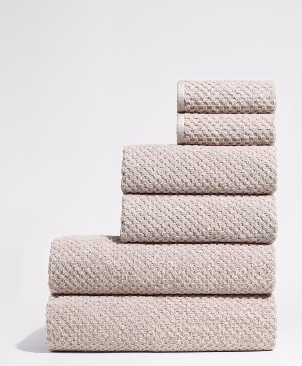 Pact Home Cloud Waffle Bath Sheet Bath Towels Towel Set Towel